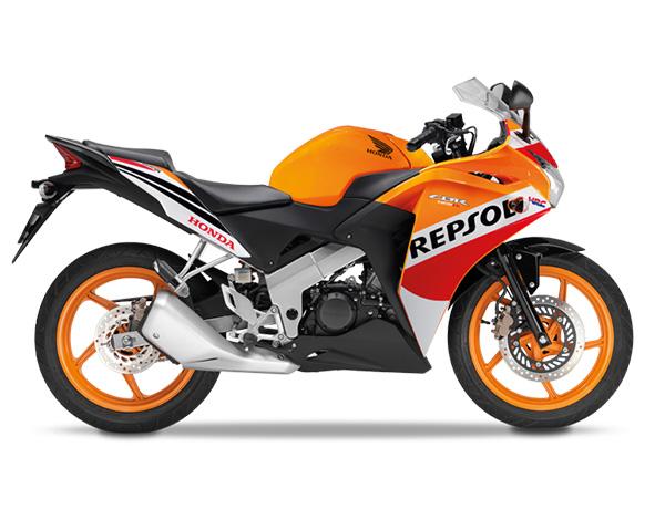 CBR125R Repsol
