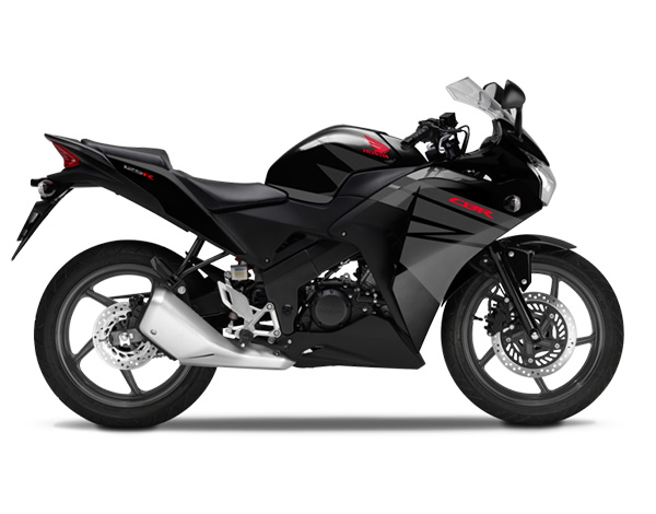 CBR125R Asteroid Black Metallic