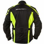 GC Bikewear One Way Fluo Zwart Back