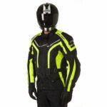 GC Bikewear One Way Fluo Zwart Full