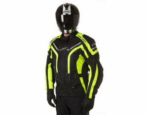 GC Bikewear One Way Fluo Zwart Full