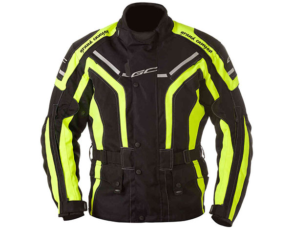 GC Bikewear One Way Fluo Zwart